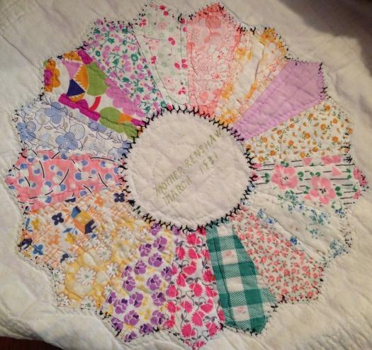 Lydia Strain Renshaw's Quilt Block